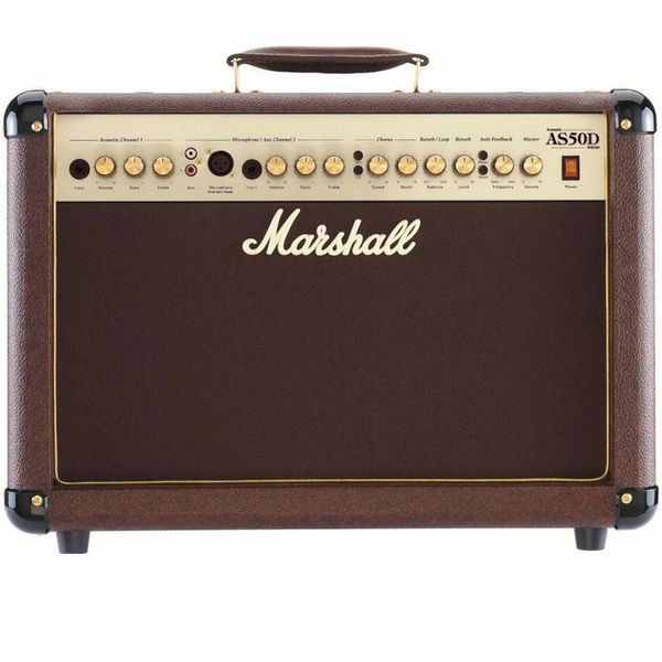 Marshall AS50D Acoustic Amp Combo Brown 50W